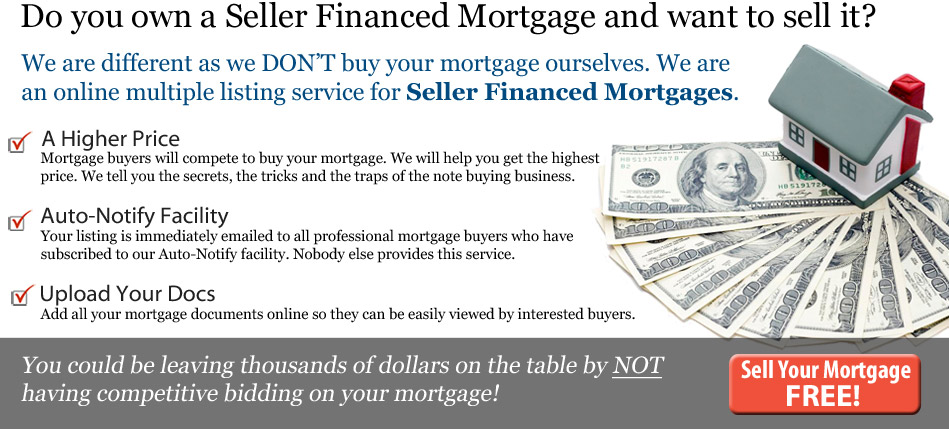 Reason to Sell Your Mortgage with Us